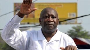 PHOTO Laurent Gbagbo - Abidjan - 26 novembre 2010