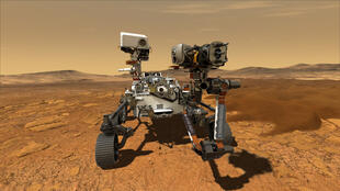 The six-wheeled robot, which is about the size of an SUV and weighs 2,300 pounds (1,040 kilograms), is NASA's fifth Mars rover and its most advanced to date