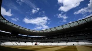 Le Stade de France, à Saint-Denis, le 30 avril 2020