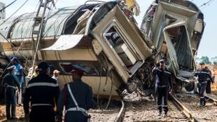 Seven people were killed and 125 injured in the rail accident in the Moroccan town of Bouknadel on October 16, 2018