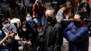 Benny Tai, pro-democracy activist Hong Kong