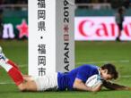 Mondial de rugby : le XV de France bat les États-Unis (33-9), un succès bonifié mais laborieux