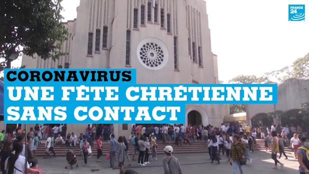 Aux Philippines, une fête chrétienne sans contact pour cause de coronavirus