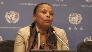Christiane Taubira speaks at the UN on Tuesday