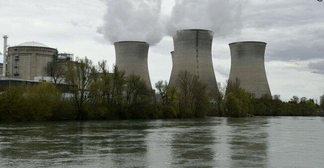 La centrale nucléaire du Bugey, dans l'Ain.