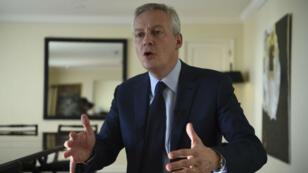 Le ministre français des Finances Bruno Le Maire le 21 juillet à Buenos Aires, en marge du G20.