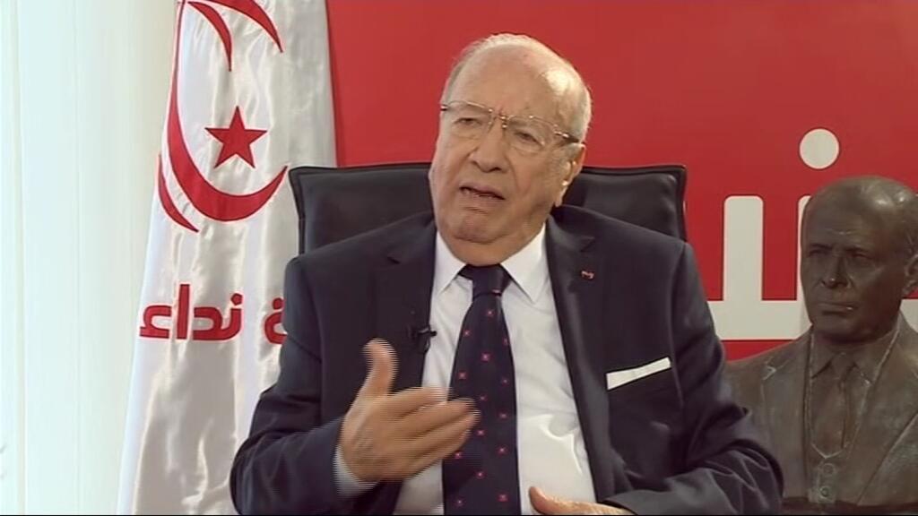 Béji Caïd Essebsi, candidat au second tour de l'élection présidentielle tunisienne.