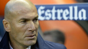Zinedine Zidane, entraîneur du Real Madrid.