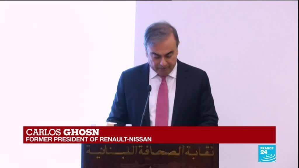 2020-01-08 14:02 Carlos Ghosn press conference: I was interrogated for up to eight hours a day