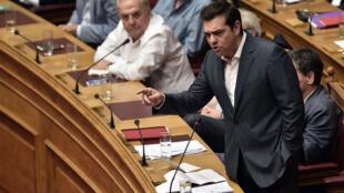 رئيس الحكومة اليونانية ألكسيس تسيبراس