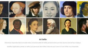 L'expérience Art Selfie est disponible sur l'appli Google Arts & Culture le 4 septembre 2018 dans le monde entier.