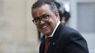 """Ebola does not take sides. It is the enemy of everybody,"" WHO chief Tedros Adhanom Ghebreyesus told the opening of the organisation's annual assembly in Geneva, warning that the risk of spread in the DRC ""remains very high"""