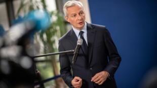Bruno Le Maire, le 23 mai 2019 à Paris.