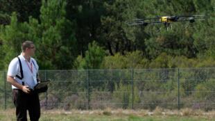 Exemple de drone civil vendu dans le commerce.