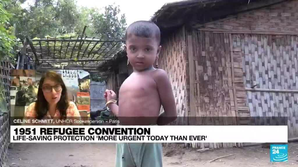 2021-07-28 17:10 1951 Refugee Convention: Life saving protection 'more urgent today than ever'
