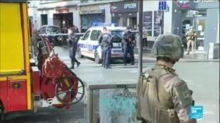 2020-09-25 13:21 Une nouvelle attaque par arme blanche près des anciens locaux de Charlie Hebdo, à Paris
