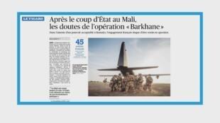 Soldats de l'opération Barkhane au Mali