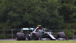 Bottas was quicker than Mercedes teammate Hamilton