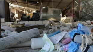 مركز طبي تابع لمنظمة أطباء بلا حدود تعرض للقصف