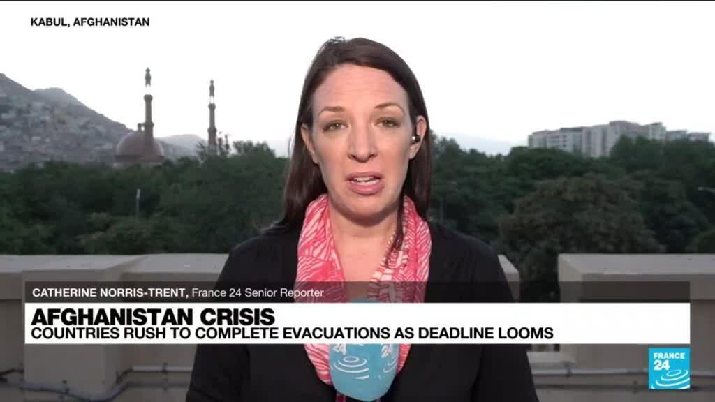 2021-08-25 16:01 FRANCE 24 in Kabul: Frightened women 'wait to see what Taliban rule will mean for them'
