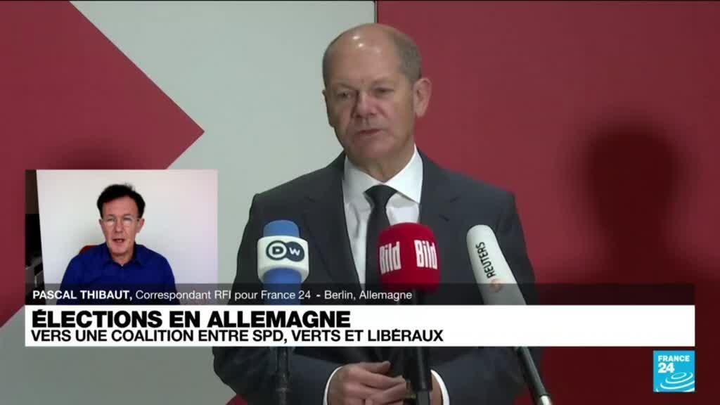 2021-10-06 17:08 Elections en Allemagne : vers une coalition entre SPD, Verts et Libéraux