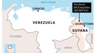 Disputa territorial entre Venezuela y Guyana