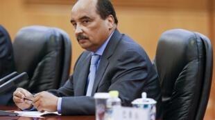 صورة أرشيفية للرئيس الموريتاني محمد ولد عبد العزيز
