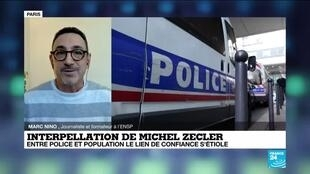 2020-11-30 14:08 Agression de Michel Zecler : entre police et population le lien de confiance s'étiole