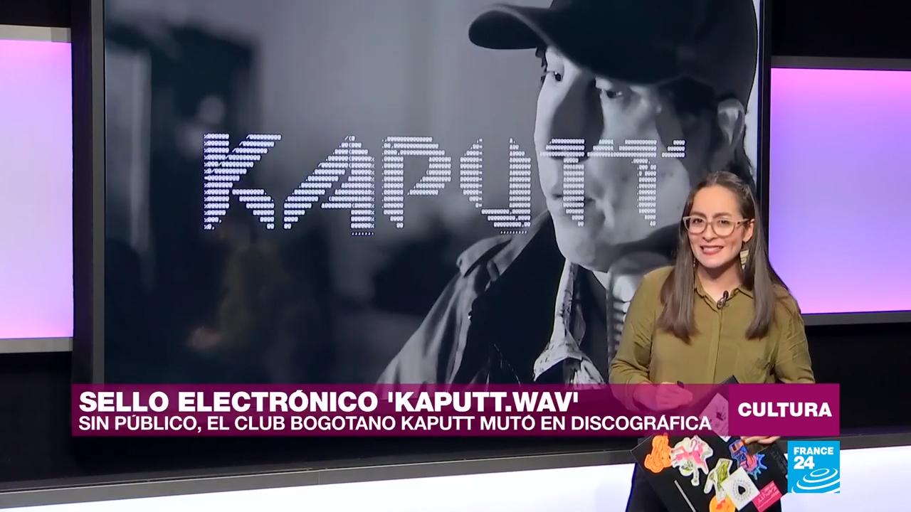 'Kaputt.WAV' es la discográfica del club nocturno Kaputt, cuyo primer compilado musical está inspirado en la ciudad de Bogotá.