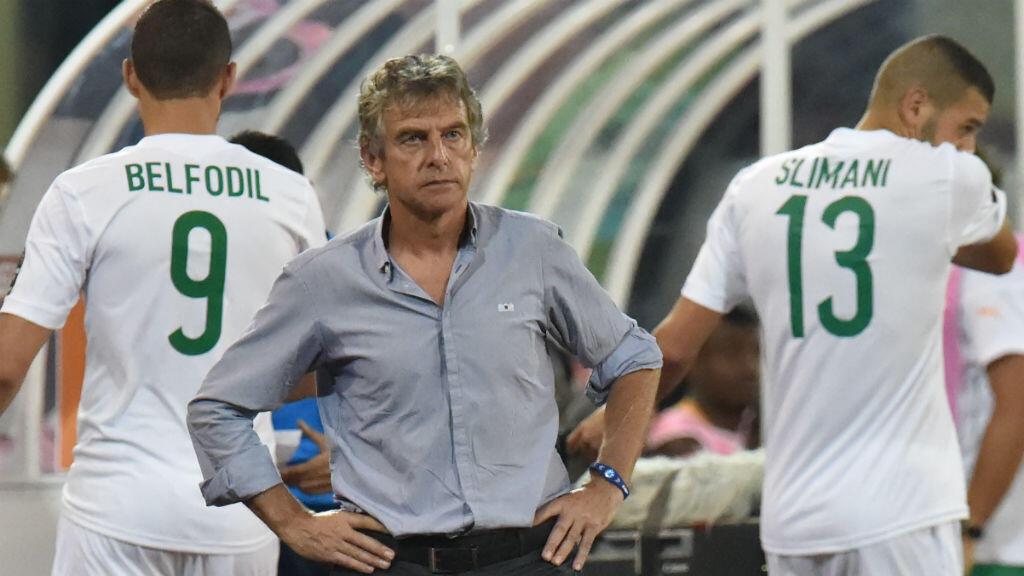 Le torchon brûle entre le sélectionneur de l'Algérie Christian Gourcuff et les médias.