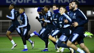 L'équipe de France jouera face aux Pays-Bas la première place de son groupe de Ligue des nations.