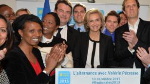 Valérie Pécresse (LR) va diriger la région Île-de-France, après sa victoire dimanche.