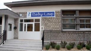 La crèche Baby-Loup à Conflans-Sainte-Honorine, à l'ouest de Paris, le 3 juin 2014.