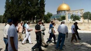 المسجد الأقصى في القدس الشرقية