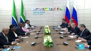 2019-10-23 18:08 Putin hosts major Russia-Africa summit as Kremlin seeks new allies and rading partners