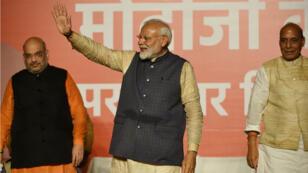 Le Premier ministre sortant Narendra Modi a remporté les législatives en Inde.