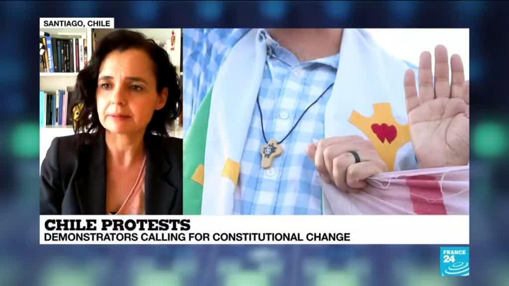 2019-10-31 13:37 Emmanuelle Barozet, sociologist and researcher at the University of Chile, analyses the cancelling of summits