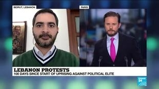 "2020-01-25 14:06 Ayman Mhanna on France 24: ""The new government does not represent the aspirations of the demonstrators"""