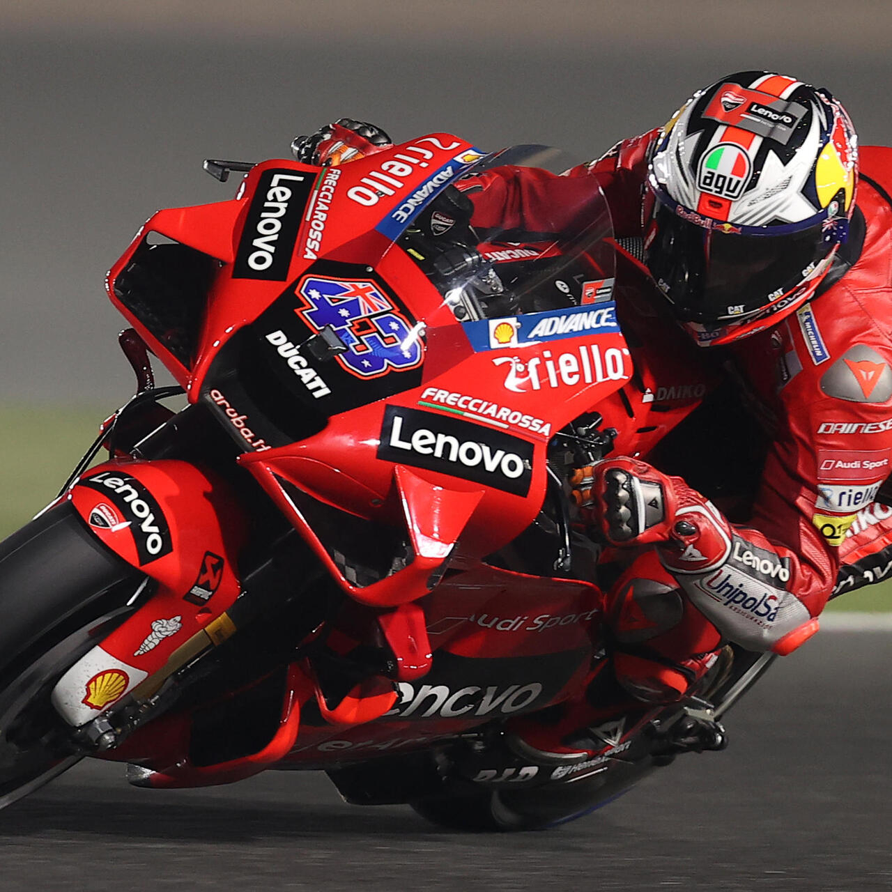 Miller Leads Ducati Triple Charge In Doha Motogp Practice France 24