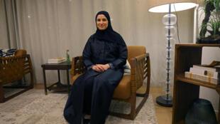 Emirati Minister of State for Advanced Technology Sarah al-Amiri