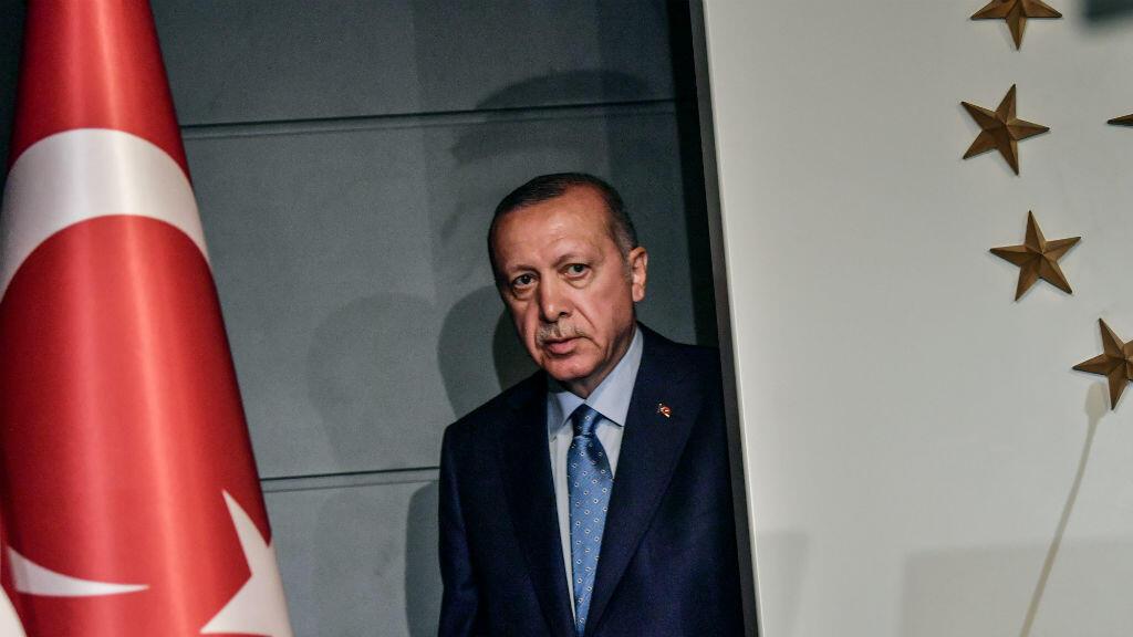 Le président turc Recep Tayyip Erdogan à Istanbul, après sa victoire à l'élection préisdentielle du 25 juin 2018.