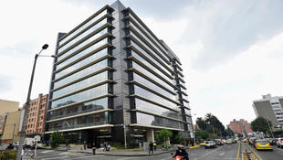 La sede de la Jurisdicción Especial para la Paz en Bogotá, Colombia.