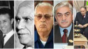 بعض الرؤساء الجزائريين
