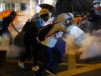 Une centaine de manifestants toujours retranchés dans un campus de Hong Kong