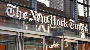Le siège du New York Times à New York