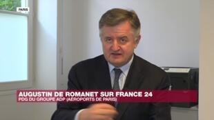 Augustin de Romanet, le PDG d'Aéroport de Paris