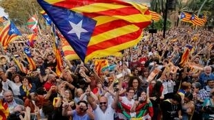 The independence declaration threw Spain into political turmoil