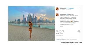 """غلاف فيديو كليب """"دبي"""" لصانعة المحتوى الساخر """"ماري بيلونيال"""""""