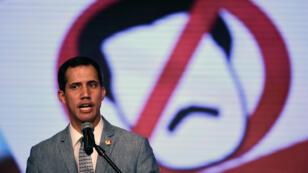 L'opposant Juan Guaido, reconnu comme président intérimaire du Venezuela par une quarantaine de pays.