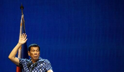 Archivo: Rodrigo Duterte regularmente hace comentarios que provocan indignación.